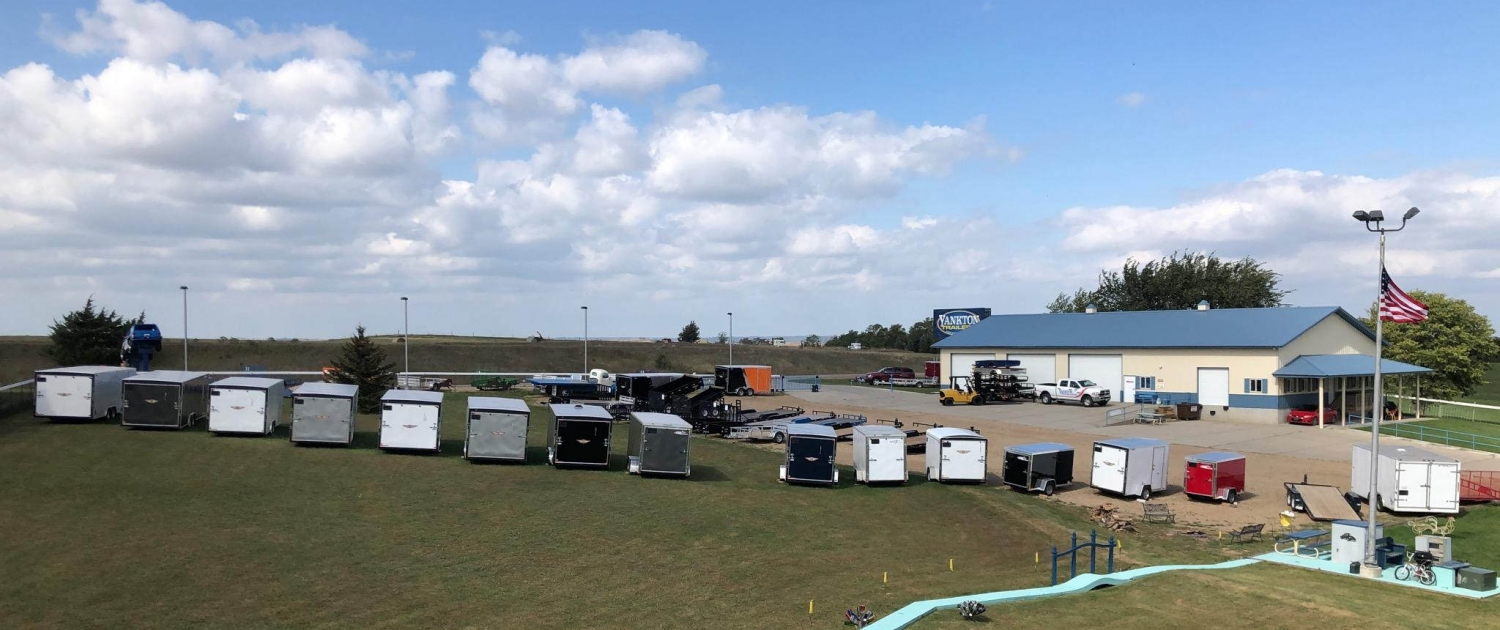 Yankton Trailers Lot
